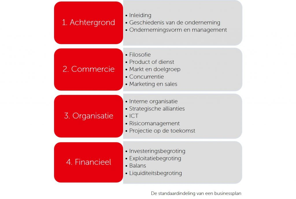 opstellen business plan