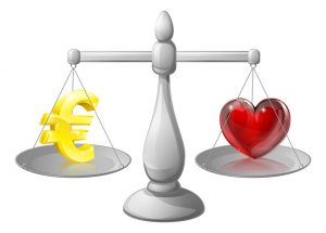 Wat drijft jou: Geld of Liefde?